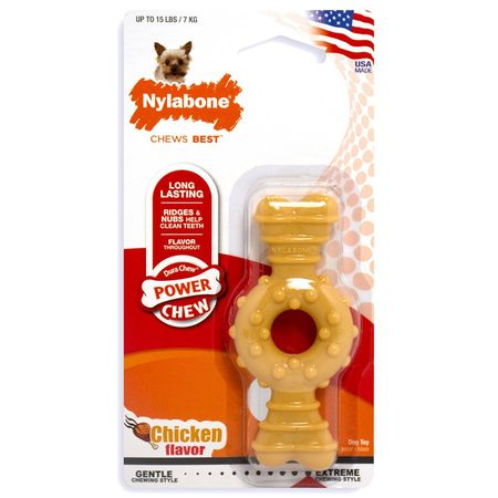 NYLABONE-POWER-CHEW-HUESO-RING-PETITE-POLLO