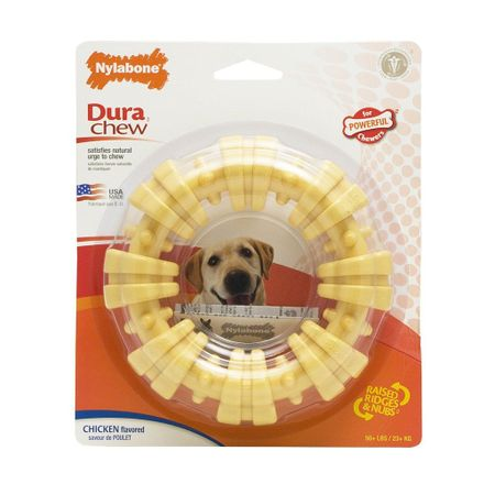 NYLABONE-POWER-CHEW-RING-GIANT-POLLO
