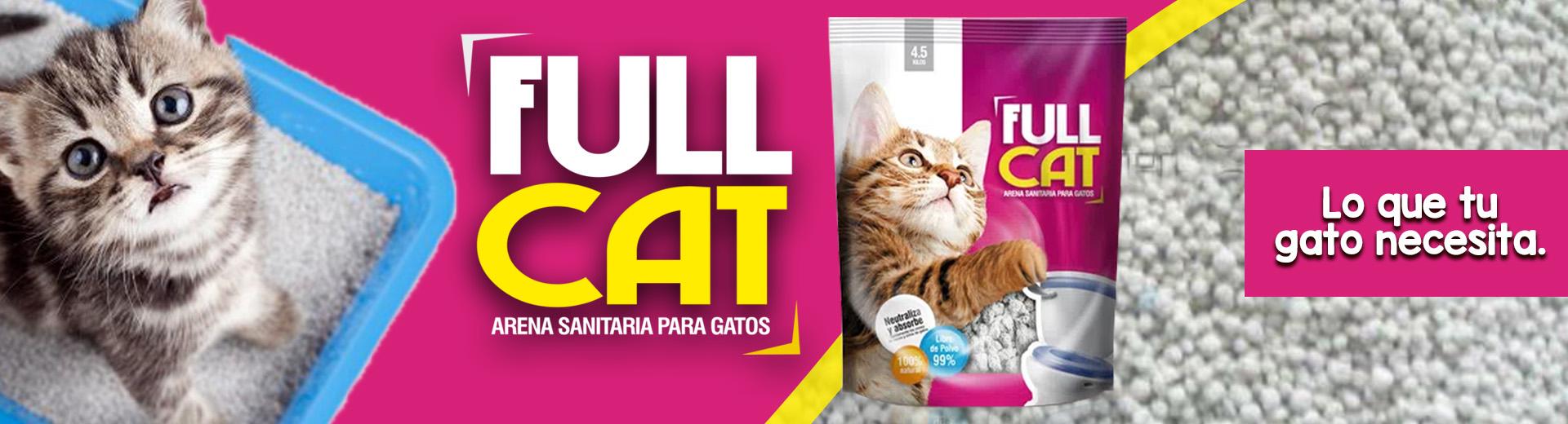 Arena para gatos FULL CAT Comida para perros