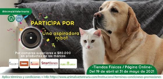 Aspiradora Robot  - promo alimentos perro - Mobile